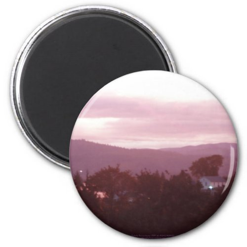 Sunrise Over the Columbia River #9 magnet