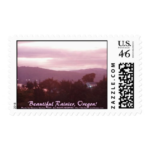 Sunrise Over the Columbia River #9 stamp