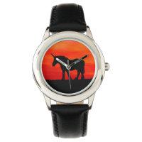 Sunset Unicorn Wristwatch