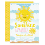 ❤️ Sunshine Birthday Party Invitation Invite