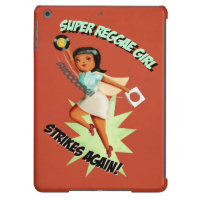 Super Reggae Girl iPad Air Cover