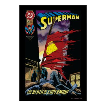 Superman #75 1993 poster