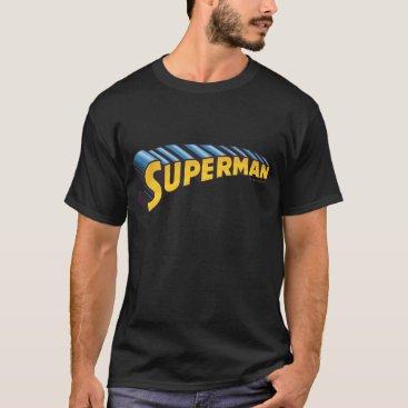 Superman | Classic Name Logo T-Shirt