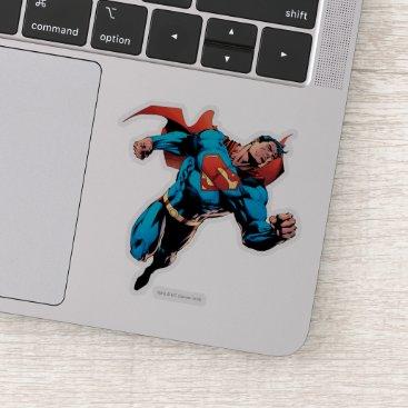 Superman in suit sticker
