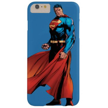 Superman Looks Front Barely There iPhone 6 Plus Case