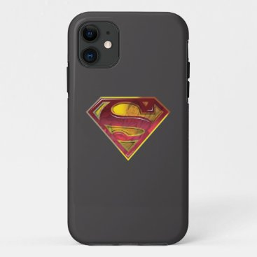 Superman S-Shield | Reflection Logo iPhone 11 Case