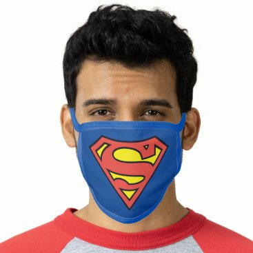 Superman S-Shield | Superman Logo Face Mask