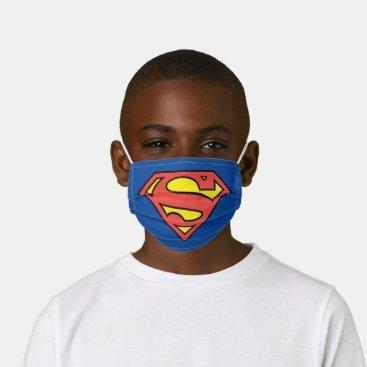 Superman S-Shield   Superman Logo Kids' Cloth Face Mask
