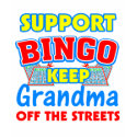 Support Bingo Grandma T-shirt