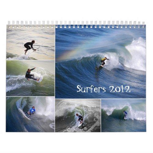 Surfers 2012 Calendar calendar