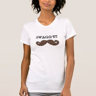 SWAG'GET Cheetah Mustache.. T-shirts
