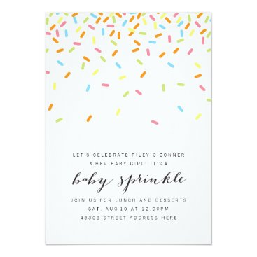 Sweet Baby Sprinkle Invite