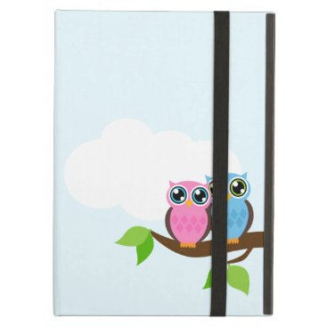 Sweet Romantic Owls iPad Air Case