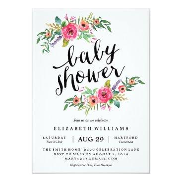 Sweetest Summer Baby Shower Invitation