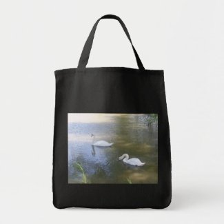 Swimming Swans Bag bag
