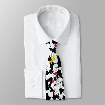 SYLVESTER™ & TWEETY™ Pattern Neck Tie