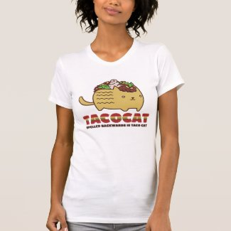 Taco Cat Tee Shirts