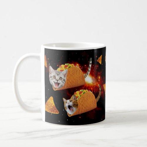 Taco Cats Space Coffee Mug