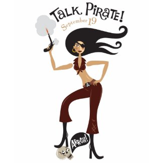 Talk Pirate shirt