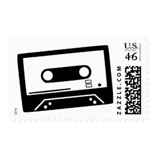 Tape - Music zazzle_stamp