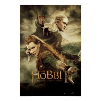 Tauriel And Legolas Movie Poster 3