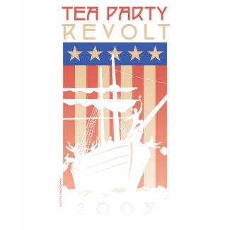 Tea Party Revolt 2009 shirt
