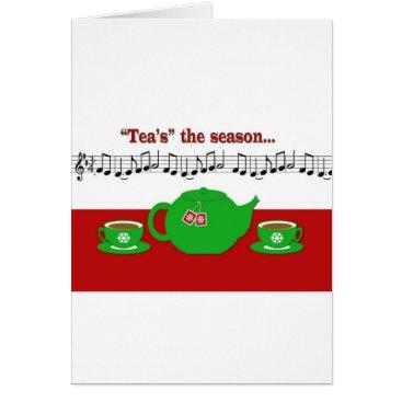 Tea Season Card