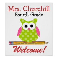 Teacher Poster - SRF