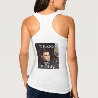 Team Wolf Racerback Tank Top