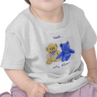 Teddy Bear Cute Baby Shirts