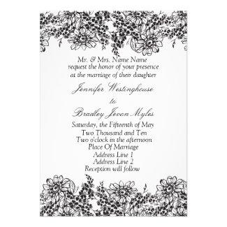 Template Wedding Invitations