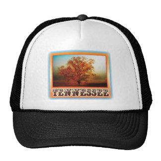 Tennessee Fall Tree Scene Trucker Hats
