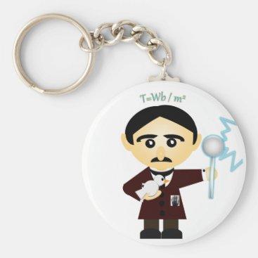 Tesla Keychain