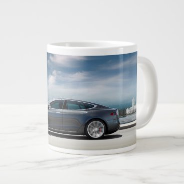 Tesla Model S Coffee Mug