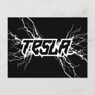 Tesla Postcard