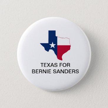 TEXAS for Bernie Sanders 2020 Button