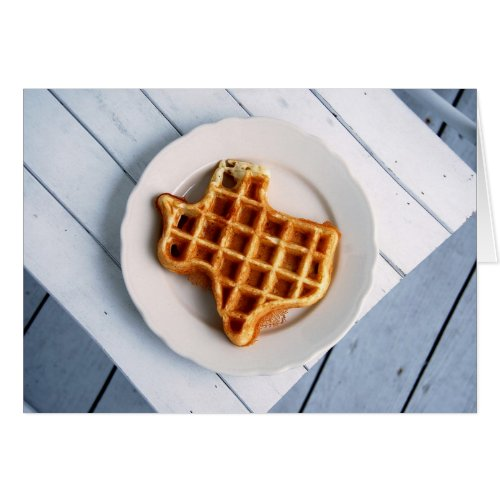 Texas Waffle Notecard Stationery Note Card