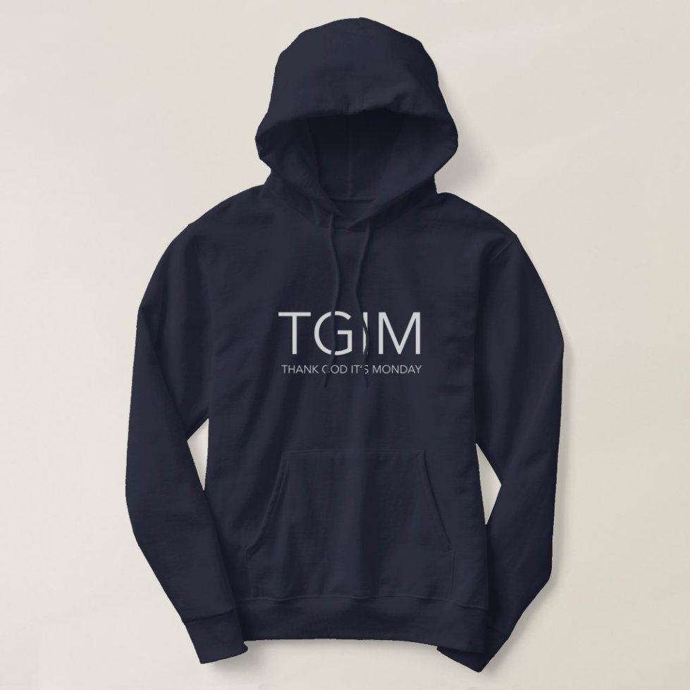 TGIM Hoodie (Black)