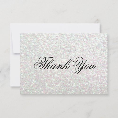 Thank You Card - Glit Fab - Iridescent