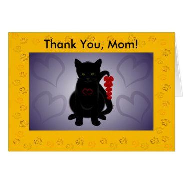 Thank you Mom! Card