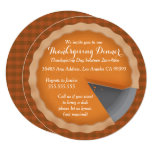Thanksgiving Pie Dinner Party Invitation