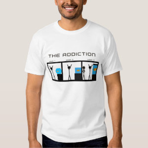 the addiction of aquariums tee shirt