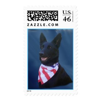 The All American Dog Postage