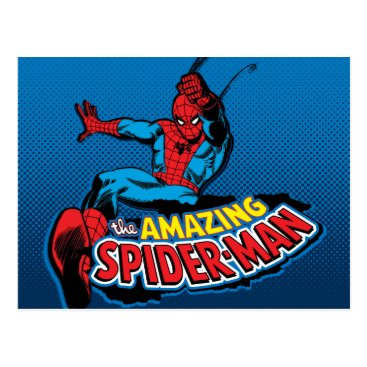 The Amazing Spider-Man Logo Postcard