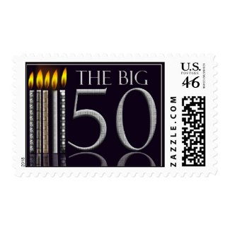 The Big 50 Birthday Stamp