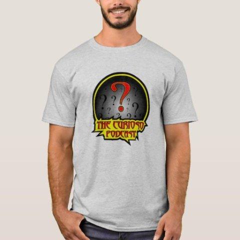 The Curioso Podcast Logo shirt