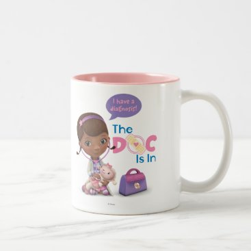 The Doc Is In 2 Two-Tone Coffee Mug
