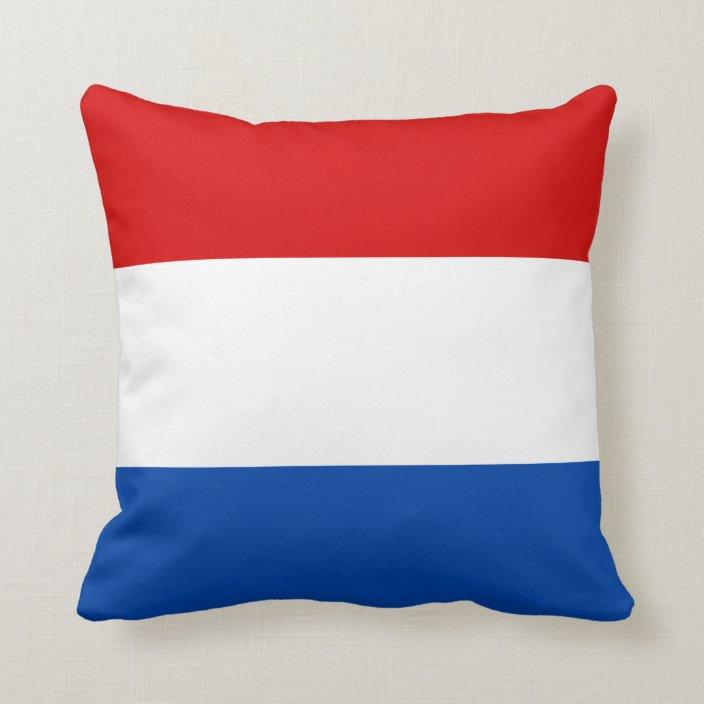 the dutch flag throw pillow zazzle com