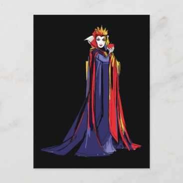 The Evil Queen | Pose With Apple Postcard