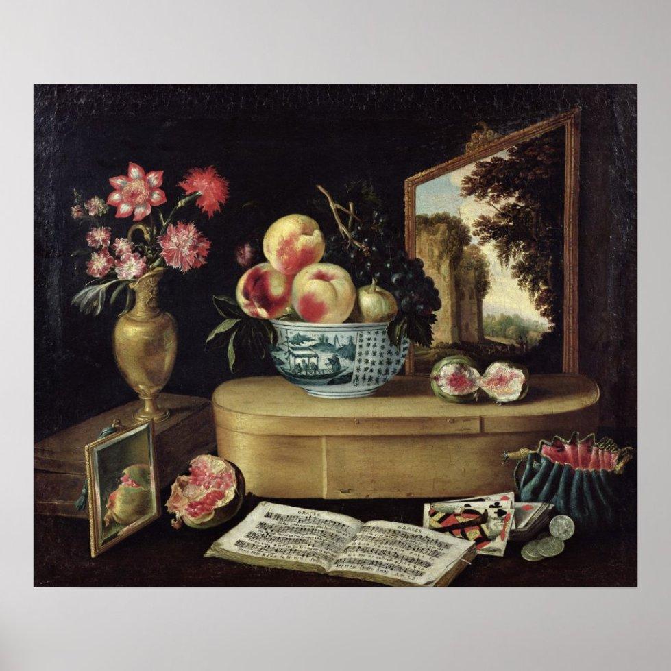 The Five Senses, 1638 Poster